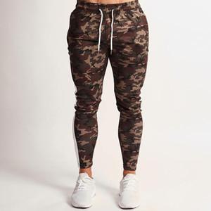 pantaloni jogging uomini camuffamento pantaloni della tuta mens deporte idoneità pantaloni casuali scarni pantalon matita allenamento sportivo pant