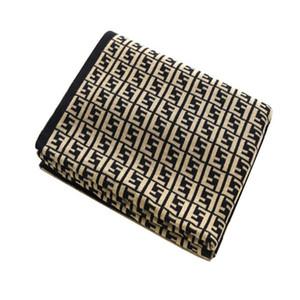 Nouveau cachemire imitation Couverture souple Crochet écharpe de laine Designer Châle chaud Portable Plaid Canapé-lit Toison Tricoté Couverture serviette Throw