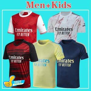 아르센 축구 유니폼 2021 SAKA PEPE NICOLAS 세발 로스 GUENDOUZI 티어니 (20) (21) 홈 원정 셋째 포수 경기 전 매치 아이 키트 남자 축구 셔츠