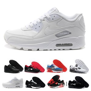 Men 90 Running Shoes Virgil Designers World cup Triple White Black air Red off Sneakers 90s Mens Trainers Sports Chaussures zapatos G8T7N
