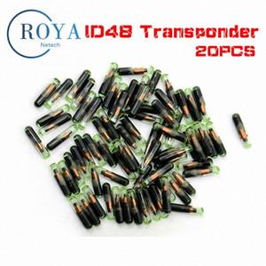 Verre professionnel ID48 Chip Transpondeur haute qualité, clé Chip ID48 Transpondeur Id 48 Megamos Crypto 6TU7 #