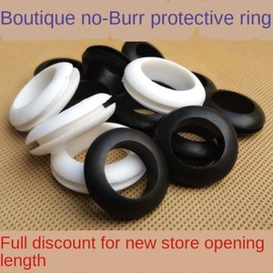 vfJiZ hole plug cover waterproof O-ring cable cable cover inner hole coil environmental protection protective coil rubber leather ring doub