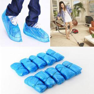 100 Pcs Home Disposable Shoe Covers Waterproof Shoe Accessories
