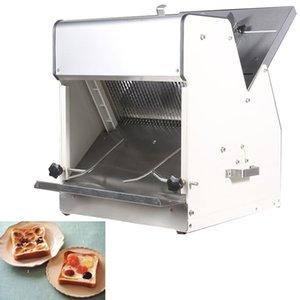 Le nouveau paquet de pain trancheuse à pain en acier inoxydable e-commerce carré grille-pain 220V 31 tranches / heure