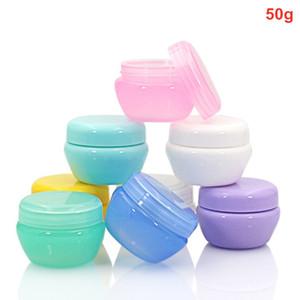 200 X 50g plastica estetica vaso crema Lip olio Batom Lozione contenitore vuoto Ricaricabile funghi bottiglia ombretto Vasi di trucco