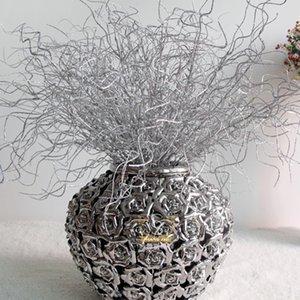 30см Искусственный блеск Сушеные Branch Пластиковые Eulaliopsis Branch Главная елочных Свадьба Декор Simulation