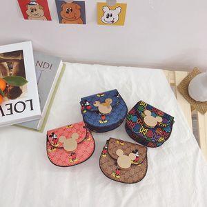 새로운 패션 키즈 디자이너 가방 여자 금속 체인 공주 미니 핸드백 어린이 편지 인쇄 한 어깨 가방 여자 귀여운 동전 키 지갑