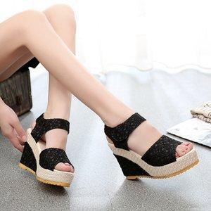 Scarpe Donna Moda PUPUDA piattaforma sandali delle signore incunea SandalsComfotable femminili leggero donne Chunky Sandali