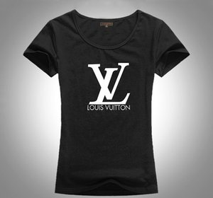 New style 2020 LU Fashion designer women Tshirts brand letter printing women t shirt best gift for gril top quality tees