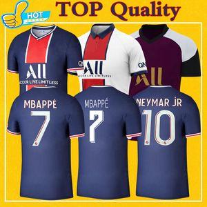 Maillot PSG Jersey 2021 Campeón PSG fútbol Jersey Mbappé ICARDI GANA Verratti 20 21 camiseta de fútbol de los hombres de los niños Kit maillot de pie