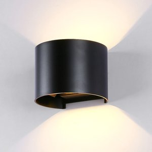 6W 12W COB LED Wall Light Up Down Sconce Lamp Living Room Bedroom Outdoor IP65 Wall Light WA002