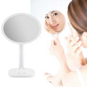 DE Stock LED Touch Makeup Stand Mirror Desktop Lighted Cosmetic Mirrors Room for Women Gift for her