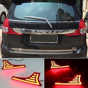 2pcs del coche LED del tope posterior del reflector de la luz para Suzuki Ertiga 2012 2013 2014 2015 2016 2017 Luz trasera de freno para scross VITARA 2015 2016 SX4