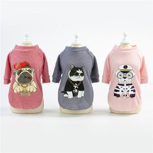 Pet Dog Clothes Summer Vest For Dogs Cats Puppy Small Dog Clothing T-shirt printing Vest Apparel Clothes chaleco perro Cheap g2uS#