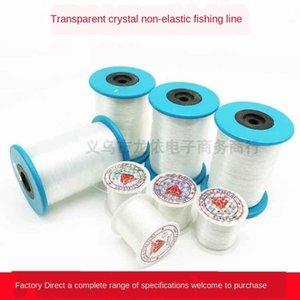hilo peces cristal DIY Accesorios de hilo de seda Diy rebordea accesorios de material línea de seda pescado transparente línea de nylon no elástico