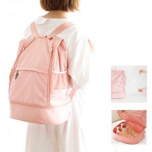 Gym Backpack Women Fitness Bags for Shoes Dry Wet Bag Handbag Gymtas Femme Tas Sac De Sport Mochila Swimming Sports