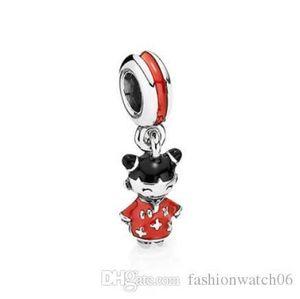 Luxury jewelry pendant 791431ENMX S925 sterling silver pendant Necklaces Pendants for bracelets necklaces 2cm pendant