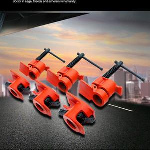 1 2 3 4 zoll Hochleistungsrohrklemme für Holzbearbeitung Holzklebende Rohrschelle Stahlguss-Eisen-Fixierung Carpenter Hand-Werkzeug