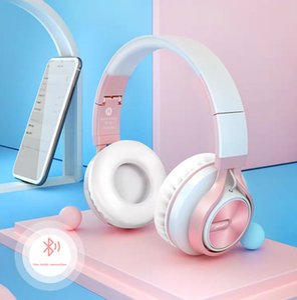 Hottest Wireless Headphone Stereo Bluetooth Headsets Foldable Earphone Cute Fashion Headset Noise Reduction Headset