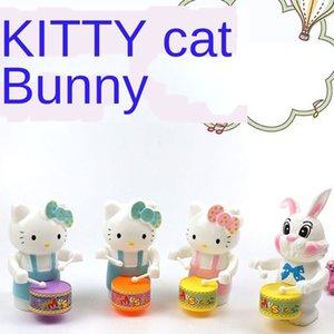 celebridad batir de tambores empuje 5DXeU línea infantil de la cadena gato especulación productos juguetes celebridades en línea tamboreo cadena de gato de los niños