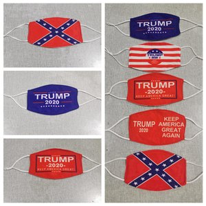 Trump Face Mask Make America Great Again US-Präsident Wahl Masken Mississippi State Flag-Maske Antistaub Waschbar Designer Masken RRA3361