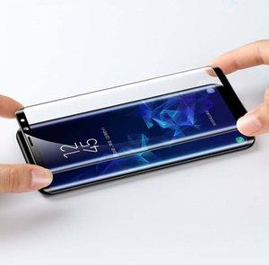 الكمال صالح 9D الزجاج المقسى لسامسونج غالاكسي A90 5G / A90 / A80 A70 / A60 A70S مكافحة Scrath جبهة كامل الشاشة حامي ضد الصدمات زجاج السينمائي