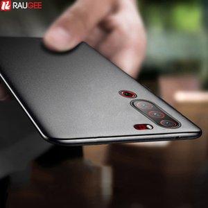 Матовый противоударный Ultra Slim Мягкий силиконовый телефон для Lenovo Z6 Lite Z5 Pro Z5S чехол Назад Корпус