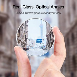 2PCS العالمي مرآة السيارة قابل للتعديل دوران بدون إطار العمياء مرآة الرؤية الخلفية مرايا fsvZ #
