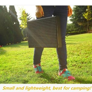 Folding Bbq Grill Portable Barbecue Charcoal Grill Wire Meshes Tools For Outdoor Camping Cooking Picnics Hiking And Camping Camping & MKaE#