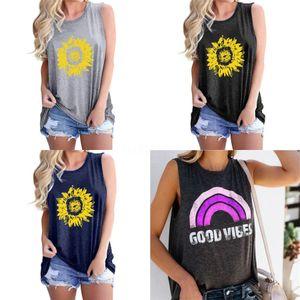 Bbk Bobo 2020 New Summer S Girl T-Shirt 100%Cotton Girls Tops Shirts Sleeveless Tees Clothes C* Y19051003#485