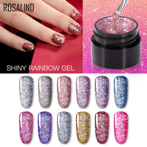 NEW Gel Nail Polish Neon Rainbow Hybrid Varnish 5ML Nail Art Gel Paint Set For Manicure Semi permanent Base top Gel Lak