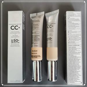 makeup CC Creams medium light BB CC Creams Silver UVA UVB 50 Base Makeup Cover Extreme Covering liquid Foundation Primer Highest quality