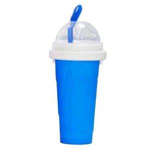 Homemade DIY Cooling Maker Cup Silicone Smoothie Mug Ice Cream Smoothie Juice Cola Freeze Smoothies Milkshake Dessert Tools