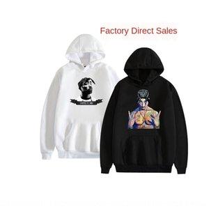 New 2Pac Tupac Amaru Shakur americano temporada cantor New 2Pac Tupac Amaru Shakur cantora temporada Hoodie do hoodie