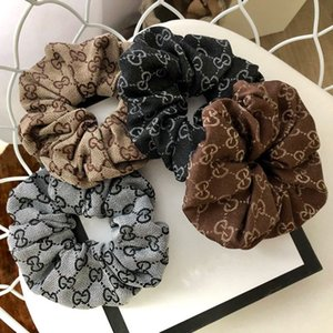Мода Бархатных волос Резиновых ленты Довольно черного Ponytail бесшпурового Hairband Девушки Эластичных Галстуки волос Мягкие ткани Кольцо для волос
