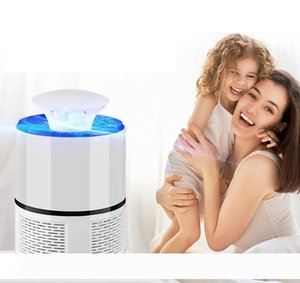 Latest hot selling portable USB mosquito repellent light mosquito suction led home without radiation photocatalyst to kill mosquitoes