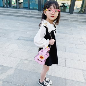 Children's coin purse Korean fashion violin shoulder Shoulder postman small cute girls' chain messenger bag accessories small bag