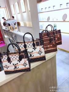 new 2pcs set high qulity classic Designer womens handbags flower ladies composite tote PU leather clutch shoulder bags female purse wallet