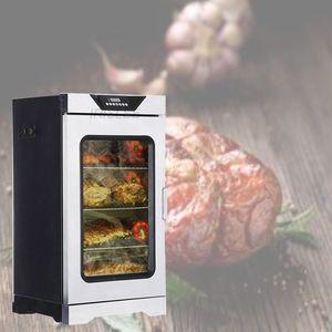 220v Vente chaude en acier inoxydable multifonctions fumeur viande électrique / poisson / poulet / tête de porc machine à fumée de viande
