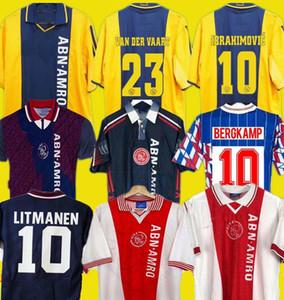 1989 1994 1995 1997 98 99 Ajax retro camisa de futebol 2000 2001 2004 05 Bergkamp Kluivert Litmanen SEEDORF DAVIDS Overmars BABEL futebol Shirt