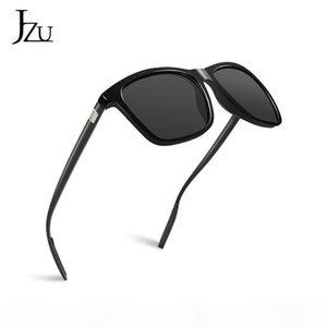 JZU magnesio alluminio polarizzato magnesio alluminio OCCHIALI DA metallo freddo conducente classico retrò 2020 brand designer UV400 s