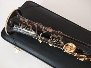 New Straight Black Soprano Saxophone Yanagisawa S-901 B Tune musical instruments professional-grade Free With mouthpiece