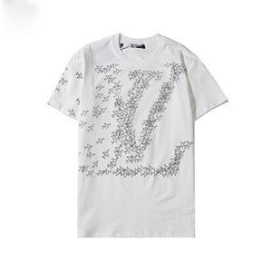 2020 xshfbcl lusso T Shirt Hip Hop Fashion Bird Printing Mens progettista T Shirt Short Sleeve High Quality Men Women T Shirt Polo progettis