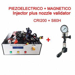 Injecteurs Common Rail Tester Kit, CRI200 support magnétique et Piezo Injector Test + SH60 Common Rail Buse testeur 2iOG #