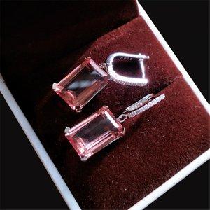 14x10mm color change sultanit dangle earrings 925 sterling silver nano diaspore gemstone earrings for women wedding party wholesale dropship