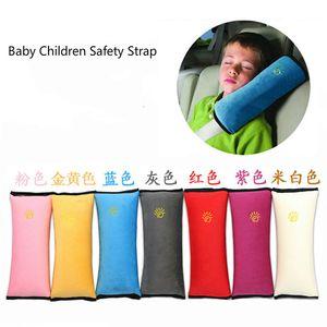 Bebê Crianças Segurança Strap viaturas Cintos de segurança Pillow ombro Protect Pad Car suave Encostos Cinto de segurança Coxim Neck Pillow CarStyling