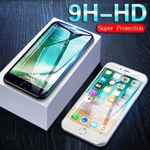 9H Protective Tempered Glass On The For iPhone 6 6s 7 8 Plus X Phone Screen Protective Glass For iPhone 11 pro XS MAX XR X Film