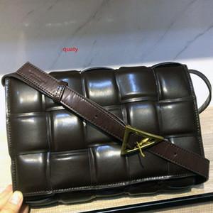 Designer de sacs à main de luxe femmes PADDED CASSETTE SAC New tissé stéréoscopiques Plaid Sac à bandoulière Femme mode Sac à main en cuir