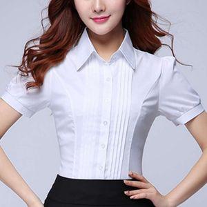 Corée Mode Femme Chemises Bureau Lady Chemisier en coton Blusas Mujer De Moda 2020 femmes Blouses élégant Shirt Plus Size 5XL