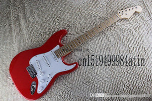 Free shipping Top Quality red electric guitar New arrival Eric Clapton Signature BLACKIE Electric Guitar